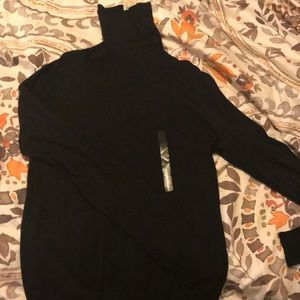 NWT Black Ann Taylor turtleneck sweater